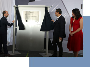 Inaugurated PILBA, industrial park in the Bajío.